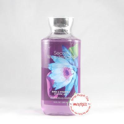 Sữa tắm bath & body works secret wonderland shower gel của Mỹ www.huynhgia.biz