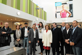 inaugurado el Centro Deportivo Municipal Vallehermoso