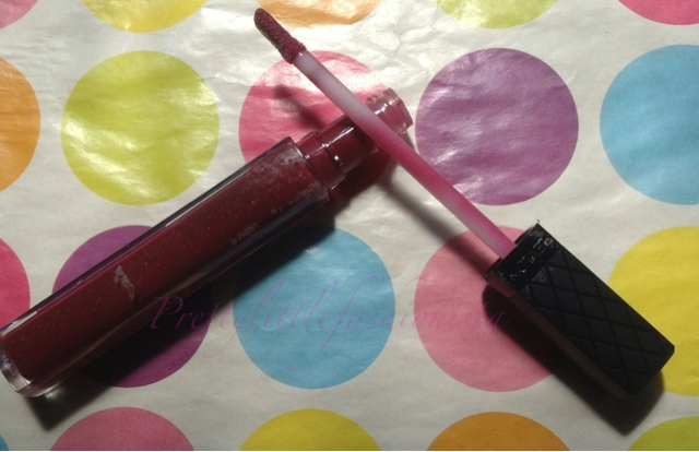 Revlon Colourburst lip gloss in Bordeaux