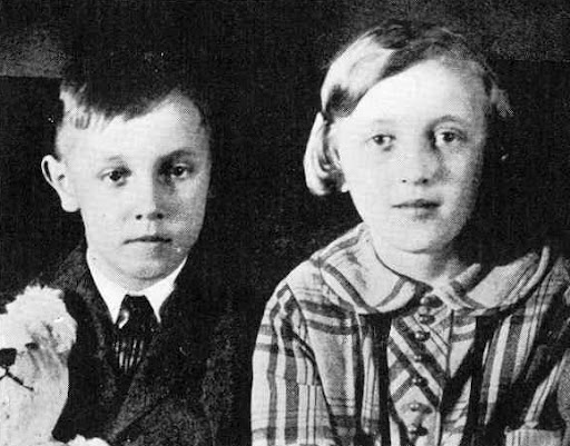 The Hall siblings Wila and George Jr. killed in the Bath School Bombing.