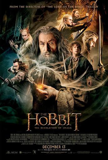 Η Ερημιά του Νοσφιστή The Hobbit: The Desolation of Smaug Poster