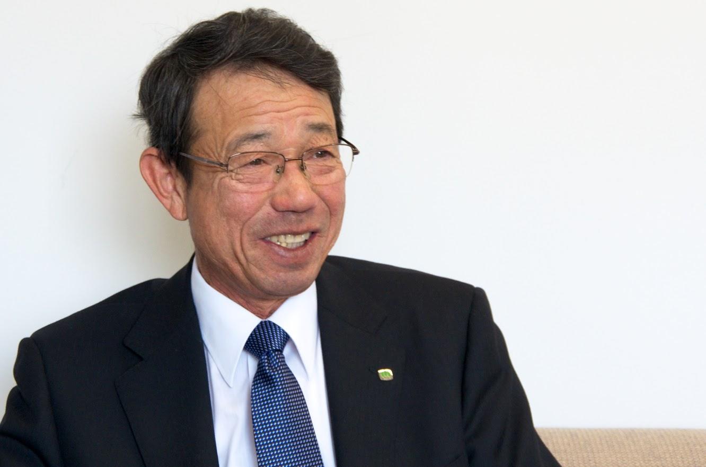 北竜土地改良区・近江博信 理事長