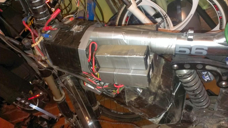 Ремонт RedimeR Atom Bike (Или подготовка к сезону)