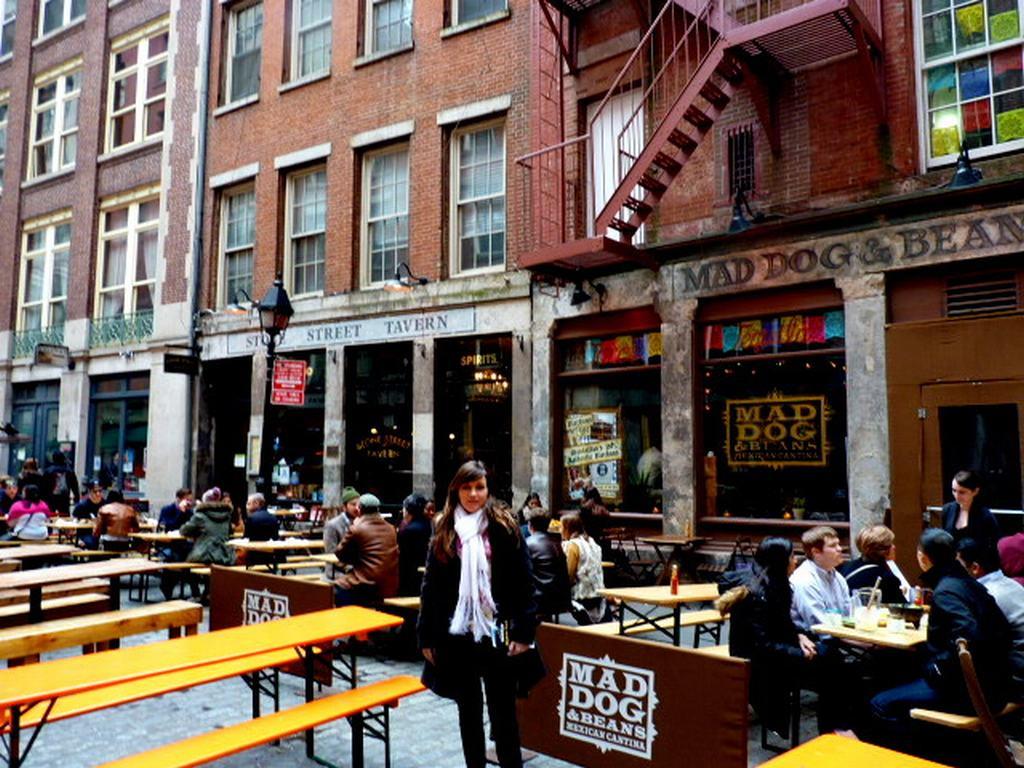 Stone street, Downtown Manhattan