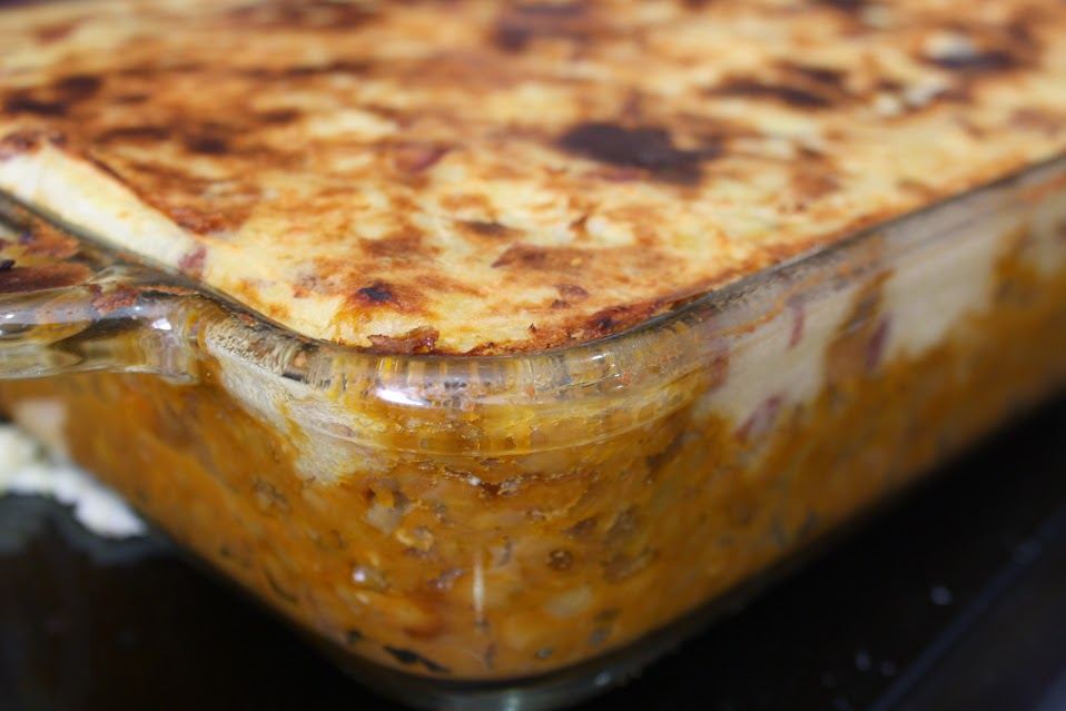 Vegan Lentil Shepherd's Pie with Parsnip Potato Crust