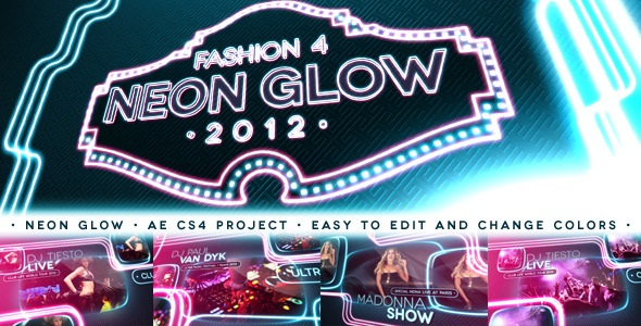 VideoHive Fashion 4 - Neon Glow