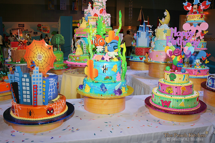 The Goldilocks Cake Deco Expo 4 The Peach Kitchen