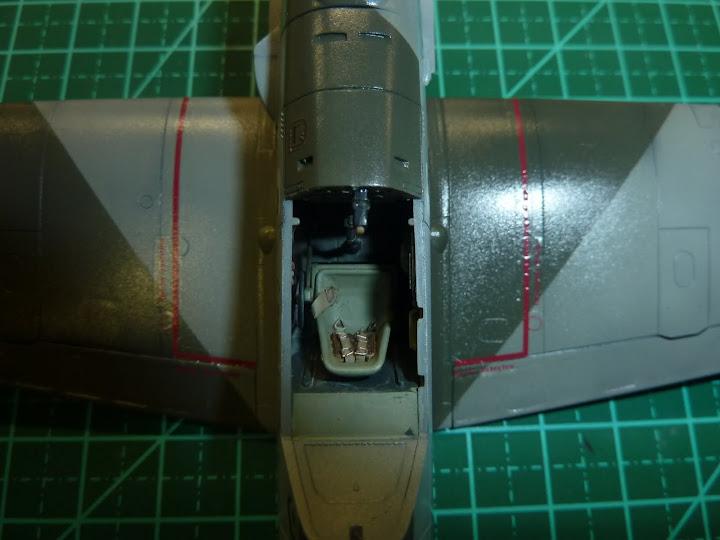 Bf-109 E-3 Tamiya 1/48 - Reforma pintura P1020501