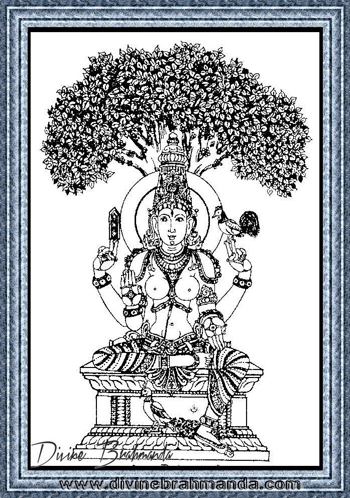 Soundarya Lahari Sloka, Yantra & Goddess For Restoration Of Lost Eyesight - 36