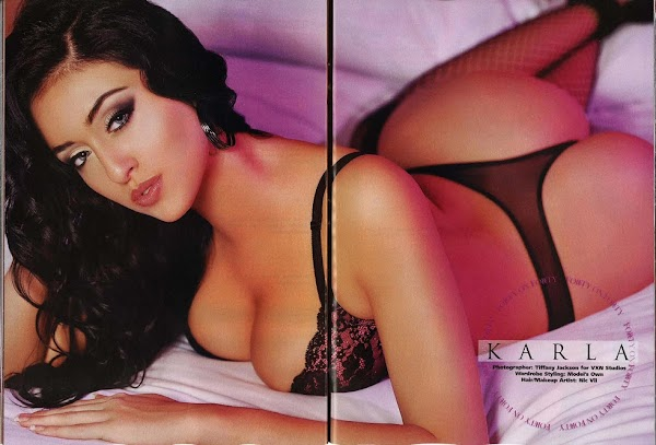 Hot babes: Karla Prime BlackMen USA (April 2011):babe,Glamour0