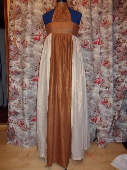 robe d'été, costume historique