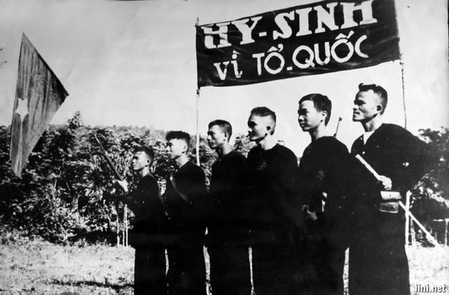 tri ân những người lính đã hy sinh vì Tổ quốc