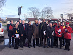 Supporting Phillip Brightmore in the Pensby and Thingwall by-election with Chuka Umuna