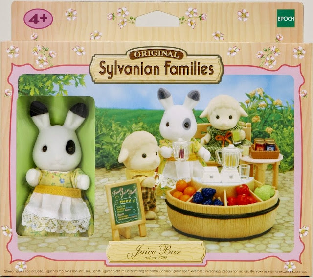Hộp sản phẩm Cửa hàng bán nước ép hoa quả Sylvanian Families