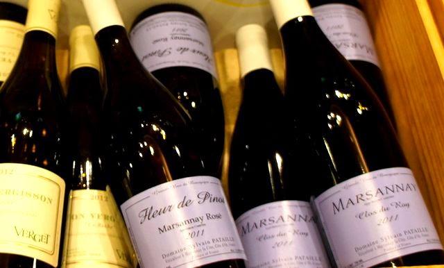 ワイン試飲会で大発見