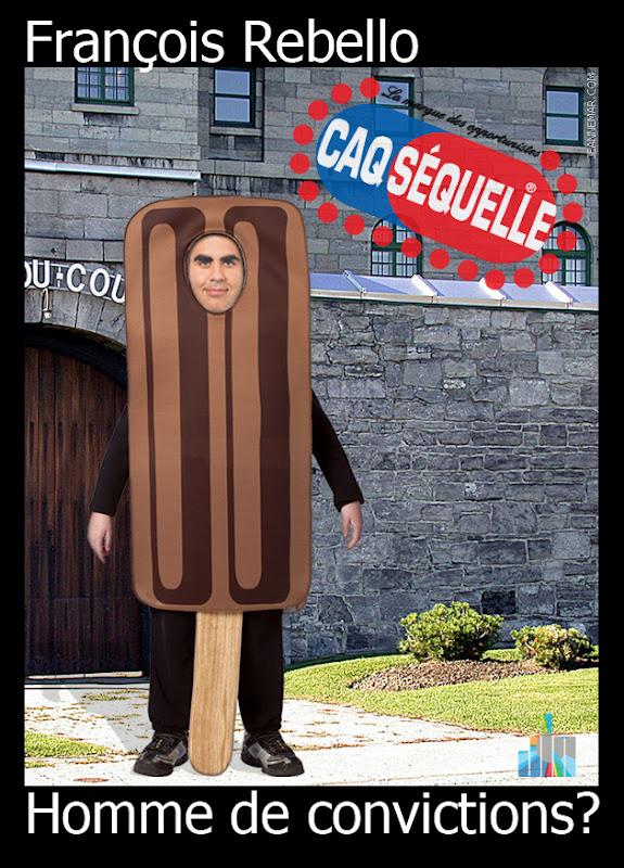 François Rebello - Revello - CAQ Séquelle - Jean Némar