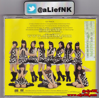 JKT48 Heavy Rotation Type-A | Back Cover [image by @aLiefNK]