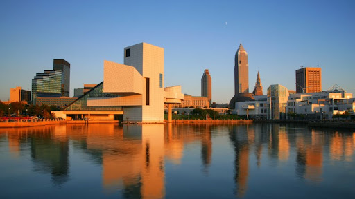 Downtown Cleveland at Sunset, Ohio.jpg