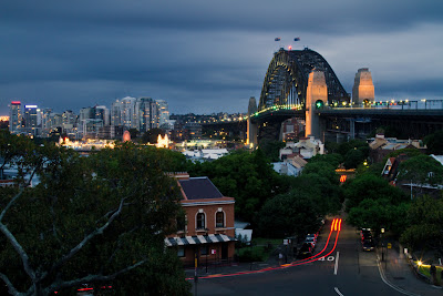 The Harbour Bridge - Sydney, Australia