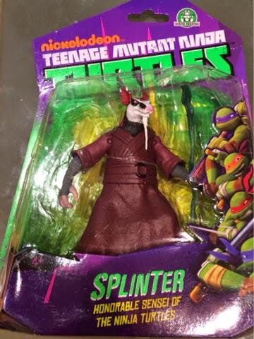 Teenage Mutant Ninja Turtles Splinter Action Figure