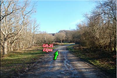GR-25 dirección a Elgea