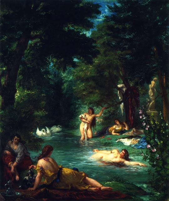 Eugène Delacroix - Bathers