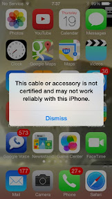 iOS7 Blocking non-certified Lightning cables