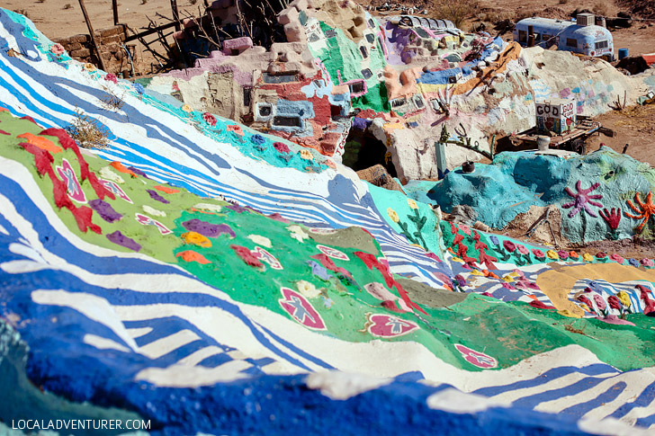 Salvation Mountain Into the Wild.