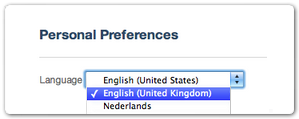 British English language preference
