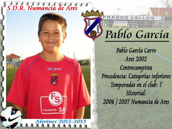 ADR Numancia de Ares. Pablo García.