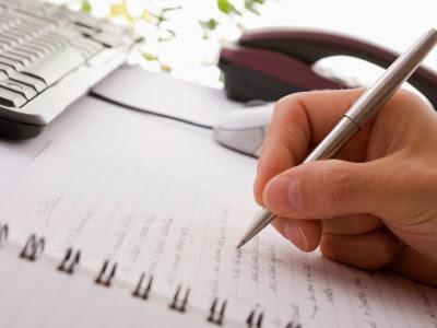 Captura siempre tus ideas en un cuaderno