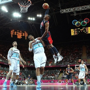 Westbrook USA dunk at Olympics