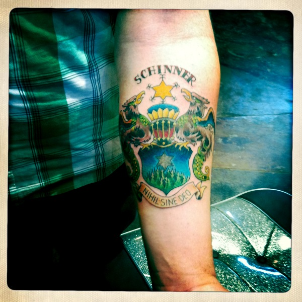 Miss Kittytattoos Art And Happenings Dragon Kois And Family Crests
