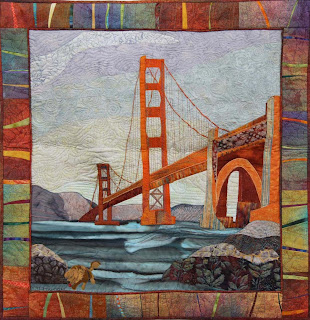 Golden at the Golden Gate, Patricia Bagdon