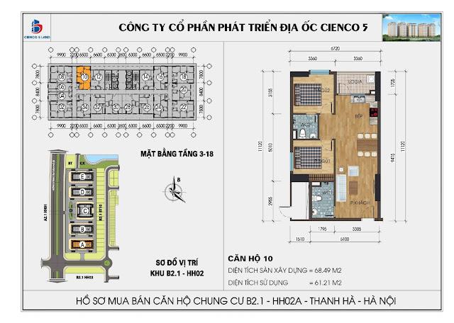Tập Đoàn  Mường Thanh mở bán 11 tòa chung cư giá từ 10,5tr/m2  Tại Quận Hà Đông.