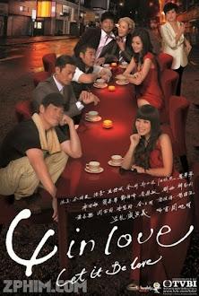 Tứ Giác Tình Yêu - 4 In Love (2012) Poster