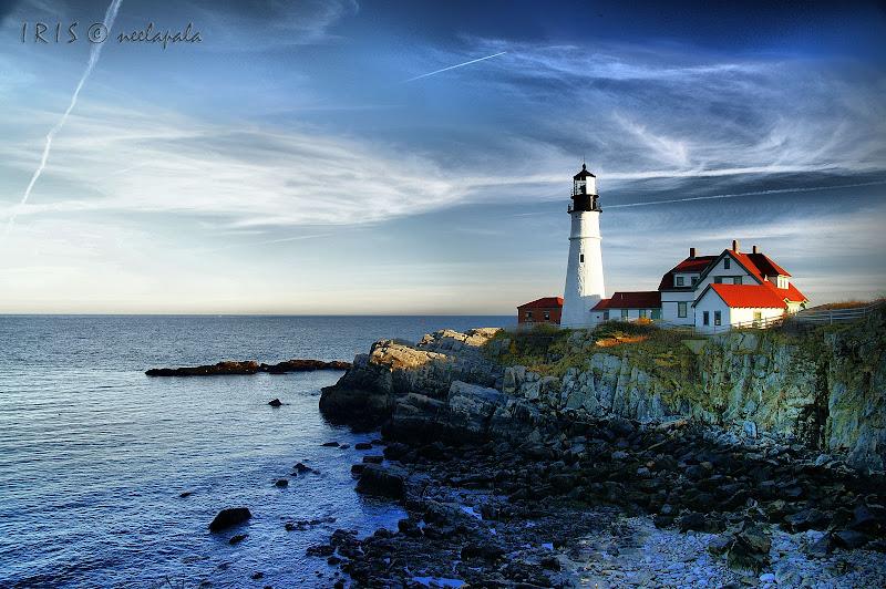 Portland Head Light House HDR image