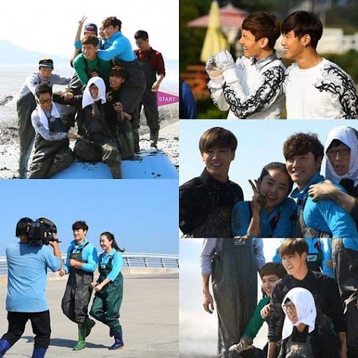 sidebar: TVXQ Wakes 'Running Man' Cast Up With 'Catch Me' Performance at Twilight