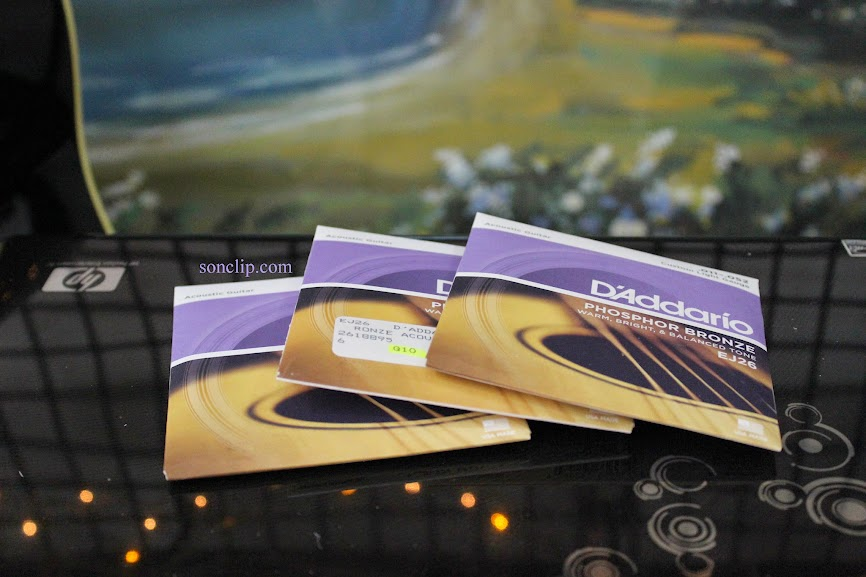 Dây Đàn Guitar Acoustic - D'Addario EJ26