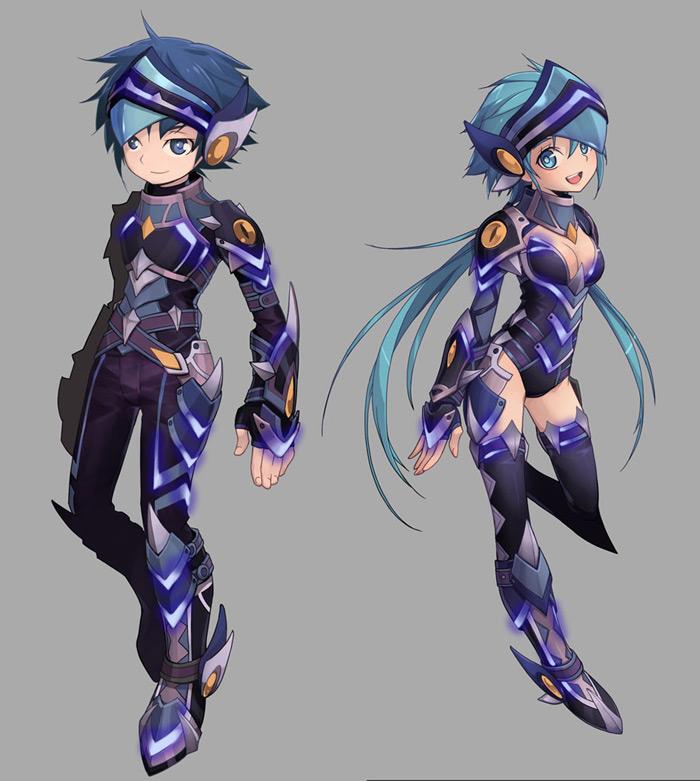 Tạo hình nhân vật trong Flyff Online
