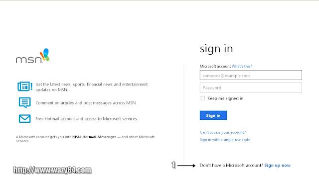 Cara Mendaftar Email Di Hotmail Versi 2