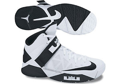 nike zoom soldier 6 tb white black 1 01 Nike Zoom LeBron Soldier VI (6)   Team Banks (Fall 2012)