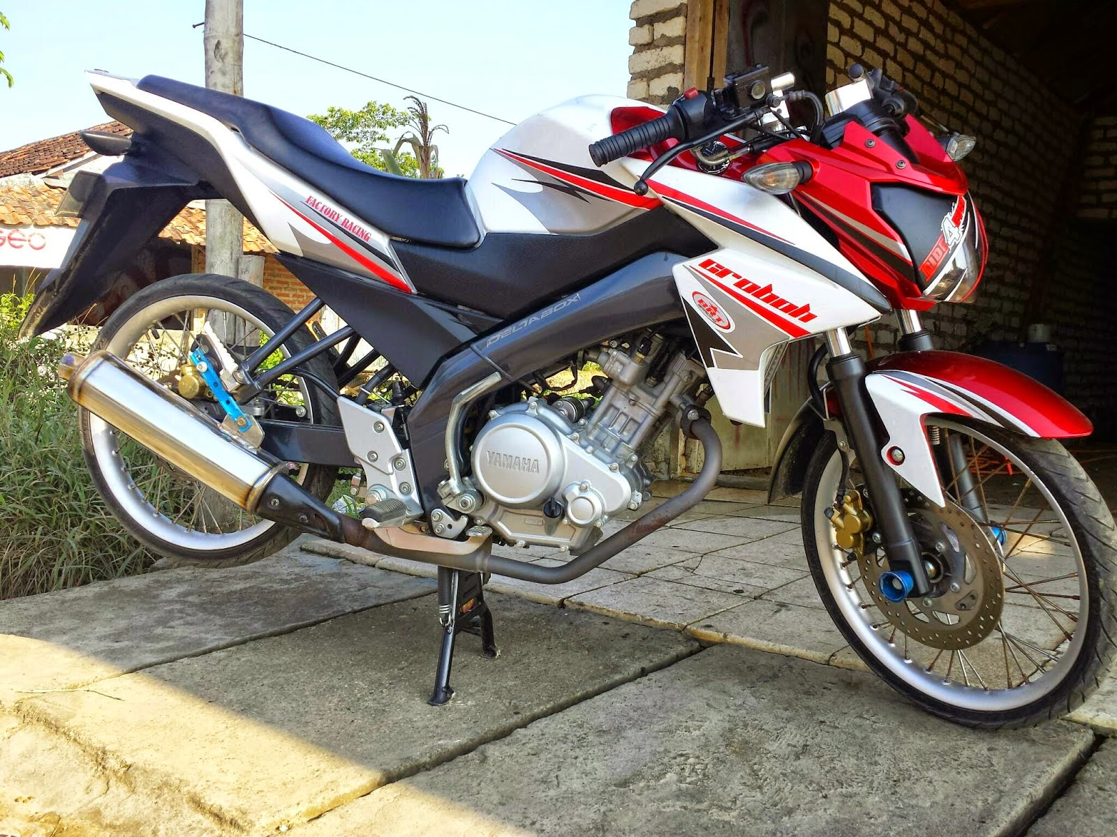 2008 Motor Revo Modifikasi