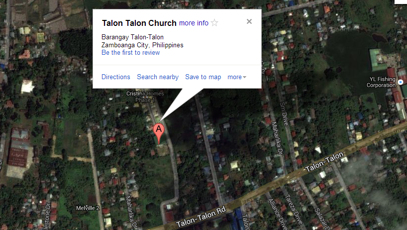 Zambo church explosion