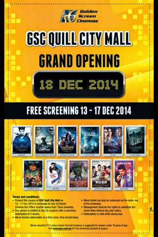 Playing Fun Chords Free Movie Ticket Quill City Mall
