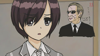 Haiyoru! Nyaruani: Remember My Love (Craft-sensei) episode 11