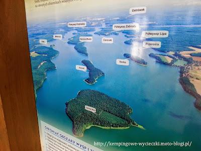 na zdjeciu Jezioro Wdzydze i aż 10 wysp