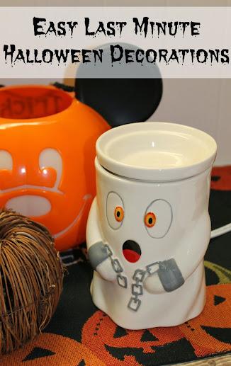 Easy Last-Minute Halloween Decoration Ideas