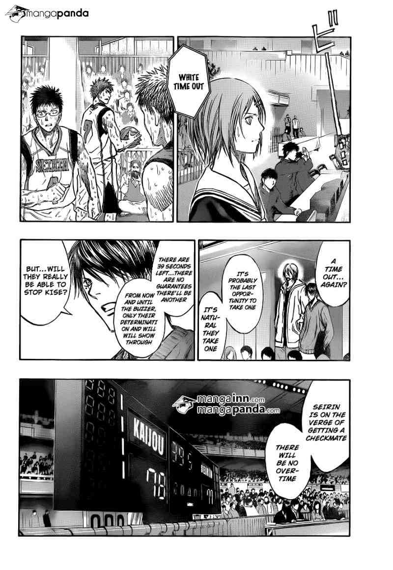 Kuroko no Basket Manga Chapter 200 - Image 02