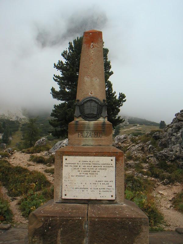 Dolomites • Passo Falzarego